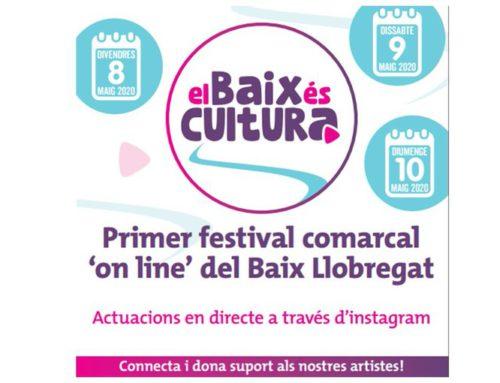 """Primer festival comarcal """"online"""" del Baix Llobregat. #santjust"""